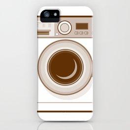 Retro Washing Machine iPhone Case