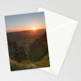 winnats pass sunrise Stationery Cards
