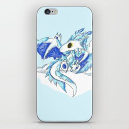Baby Ice Wyvern iPhone Skin