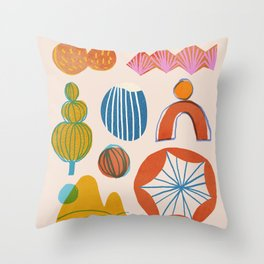 Abstraction_Nature_Element_01 Throw Pillow