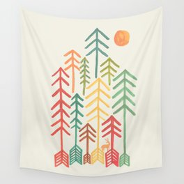 Arrow forest Wall Tapestry