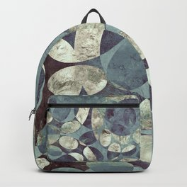 Background Metallic Ocean II Backpack