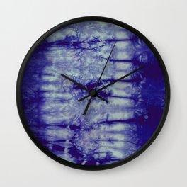 Tie Dye- Blue Wall Clock