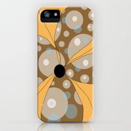 FLOWERY  LILY / ORIGINAL DANISH DESIGN bykazandholly iPhone Case