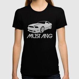 Ford Mustang Boss - silver - T-shirt
