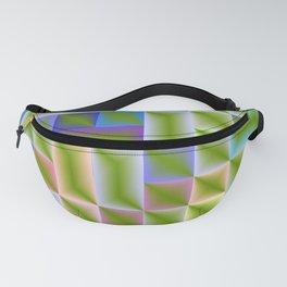colored subtle pattern Fanny Pack