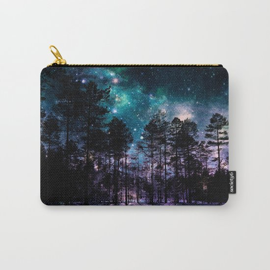 One Magical Night... (teal & purple) Carry-All Pouch