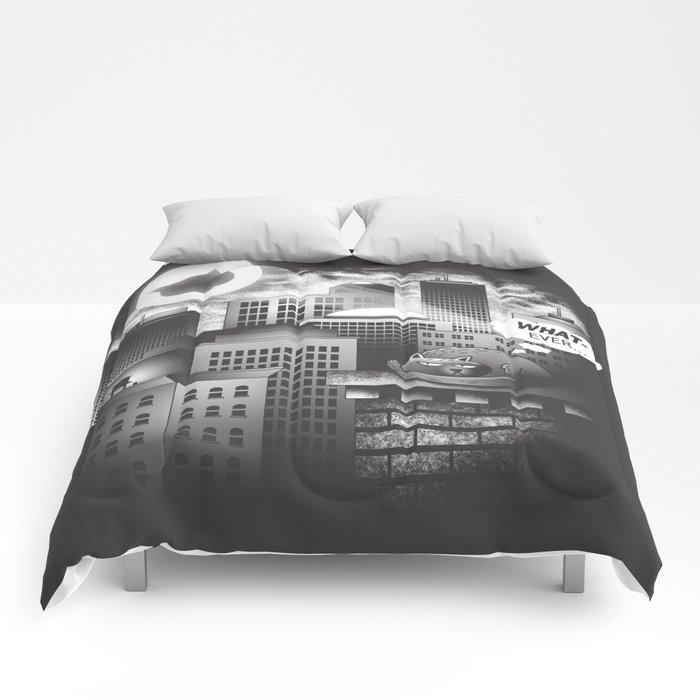 Cat Person Comforters