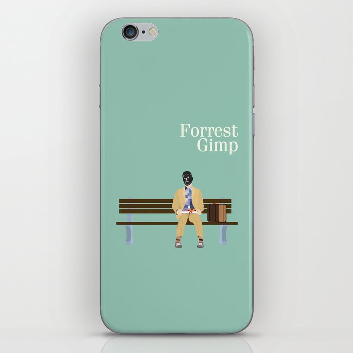 FORREST GIMP iPhone Skin by ianohanlon