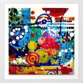 """When I Close My Eyes""  Art Print"