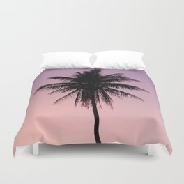 Summer Palms Duvet Cover
