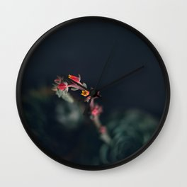 Succulent (3) Wall Clock