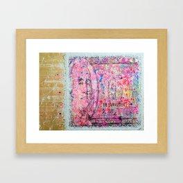 MONEY STA$H Framed Art Print