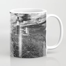 "Montauk Point Lighthouse ""The end"" Coffee Mug"