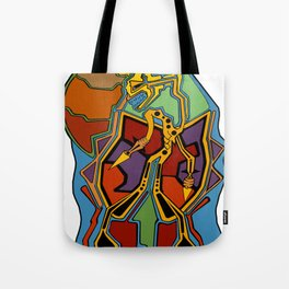Stuck In Colour Tote Bag