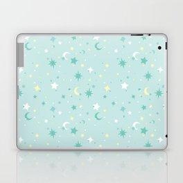 Twinkle Twinkle - Mint Laptop & iPad Skin