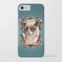 grumpy iPhone & iPod Cases featuring Grumpy by TsaoShin