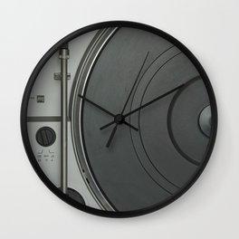 OLD SCHOOL VINYL VIBES Wall Clock