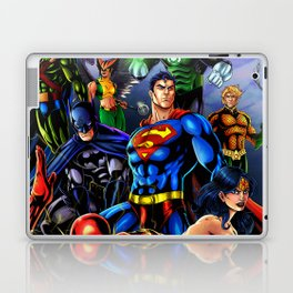 heroes all Laptop & iPad Skin