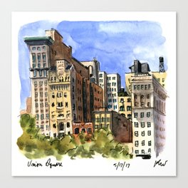 Union Square West Canvas Print
