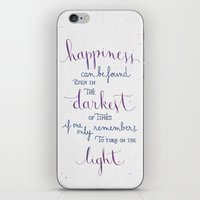 dumbledore iPhone & iPod Skins featuring Happiness can be found by Earthlightened
