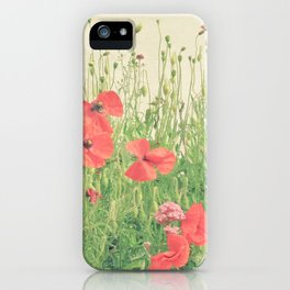 Sea of Red iPhone Case