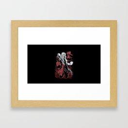 Jiraiya Sennin Modo Framed Art Print