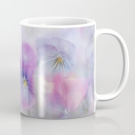 little pansies Coffee Mug