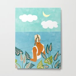 The Pursuit Of Happiness #illustration #painting Metal Print