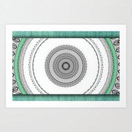 Green West Art Print