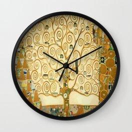 Gustav Klimt - Tree of Life Wall Clock