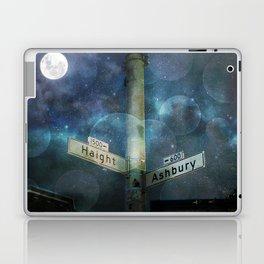 Haight Ashbury Vibes Laptop & iPad Skin