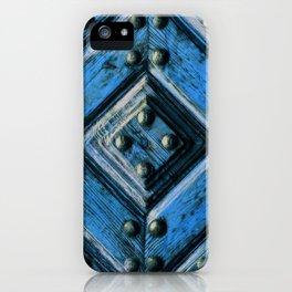 artifact wooden door iPhone Case