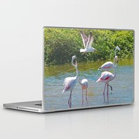 lovers Laptop & iPad Skins featuring Lovers by CrismanArt