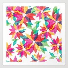 Geo Floral Art Print