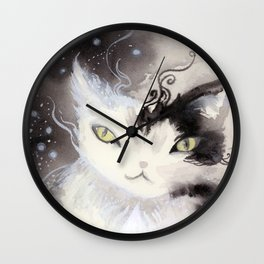 Stardust Pawing the Paradox Wall Clock