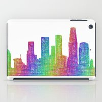 los angeles iPad Cases featuring Los Angeles by David Zydd