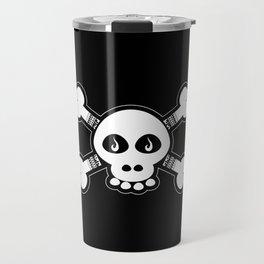 Skull & Bones Tattoo Travel Mug