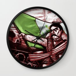 zapata  Wall Clock