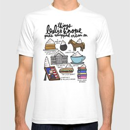 Things Leslie Knope puts Whipped Cream on T-shirt