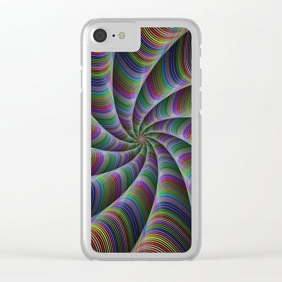 Infinite color fun Clear iPhone Case