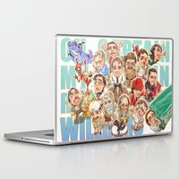 robin williams Laptop & iPad Skins featuring Robin Williams by Arashi.C