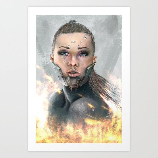 XXQ-0001P Art Print