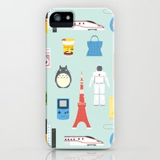 Japan Icons Illustration : PRESENT iPhone SE Slim Case