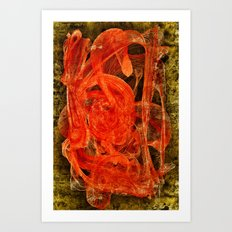 The Casso Art Print