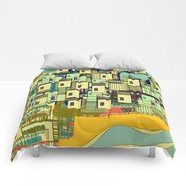 Mediterranean Coast Comforters