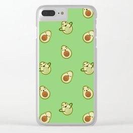 Avocado Trinity Clear iPhone Case