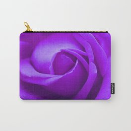 Lavender Teardrop Rose Carry-All Pouch
