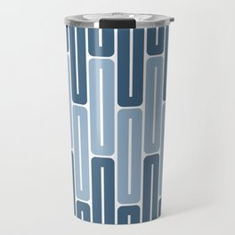 Seamless Colorful Abstract Pattern from Rectangle Intersections Travel Mug