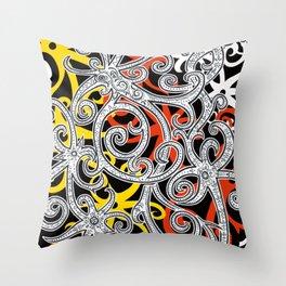 Sarawak Hornbill 2 Throw Pillow